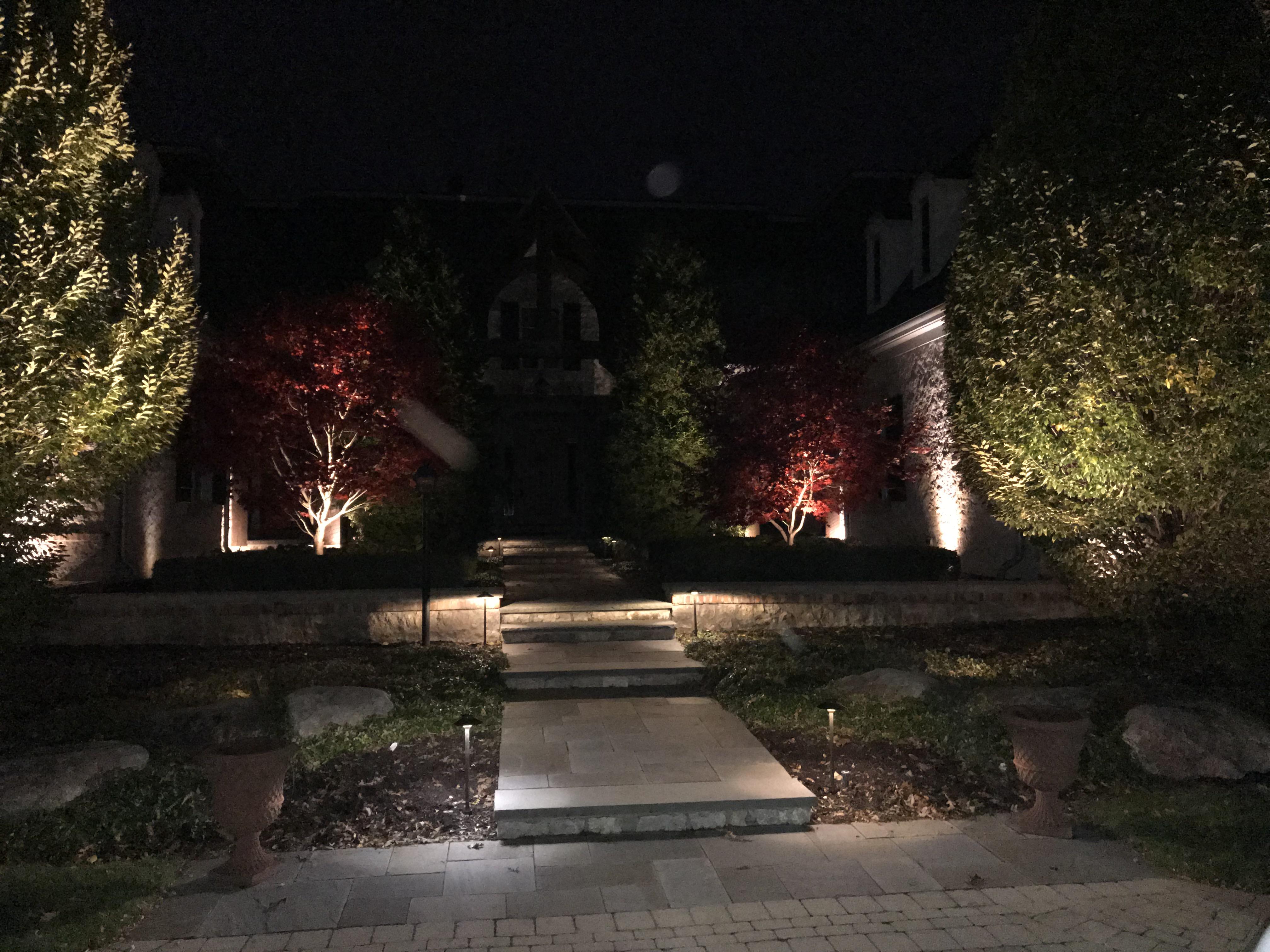 Lighting Nightscaping Maddox Irrigation